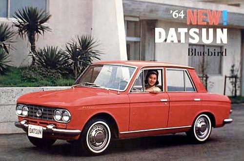 1964 Datsun Bluebird 410 | Nissan & Datsun World | Pinterest ...