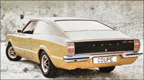 Coup deportiva gt ford taunus mod 1976 original motor 2 3 pictures to pin on pinterest - Ford taunus gxl coupe 2000 v6 1971 ...