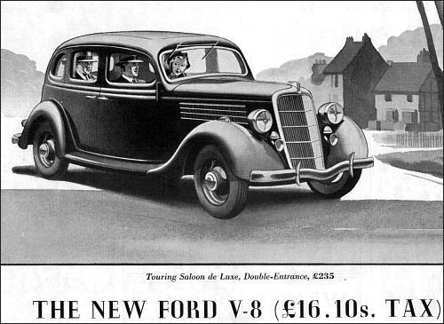 Ford V8 Saloon