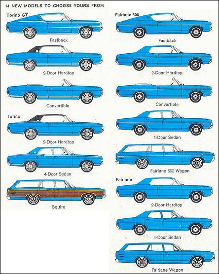 1967 ford thunderbird 4 door
