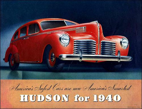 Hudson for 1940 Ad