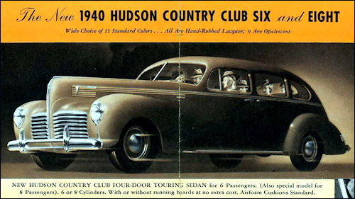 The New 1940 Hudson Country Club