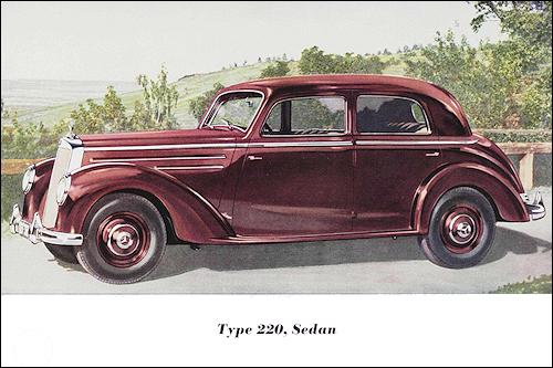 Mercedes benz 1953