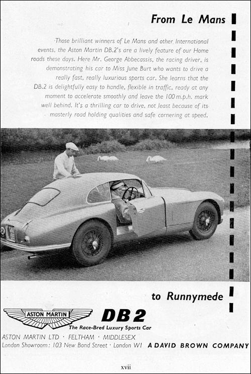 Aston Martin 1952