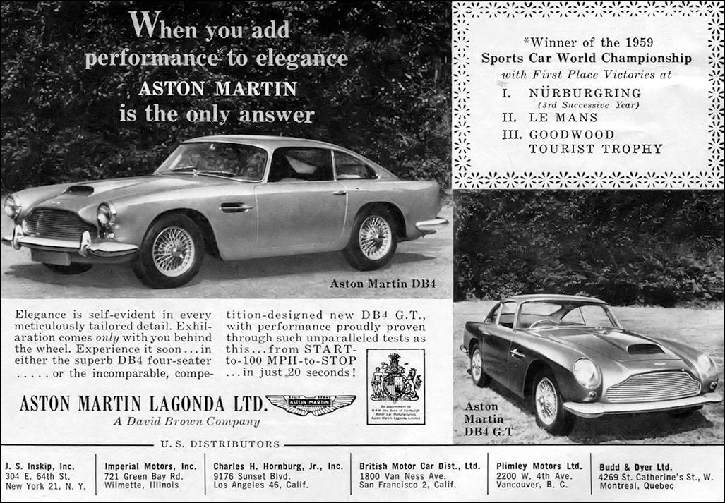 Aston Martin 1960