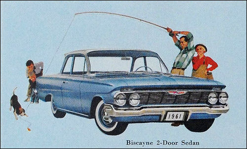 Other Car Manuals 1959 1960 1961 CHEVROLET IMPALA BISCAYNE ...