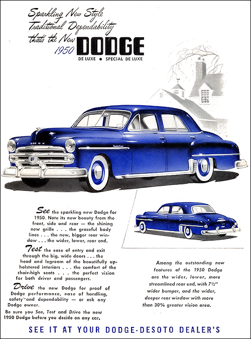 dodge 1950 Chooped Dodge Wayfarer Sedan 1950