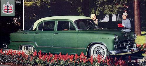 4 Door Convertible >> Dodge 1953