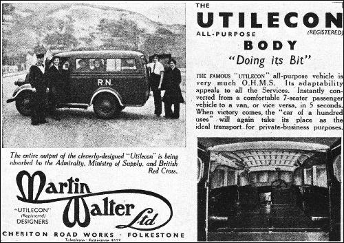 Walter Ltd ford 1941