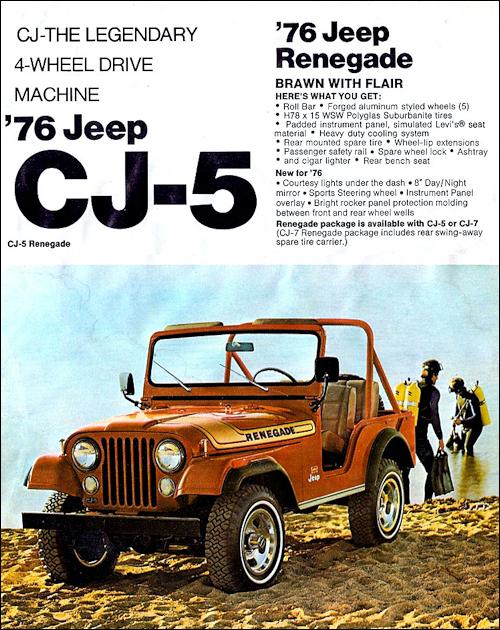 Wunderbar Jeep 1976 Bilder - Der Schaltplan - greigo.com