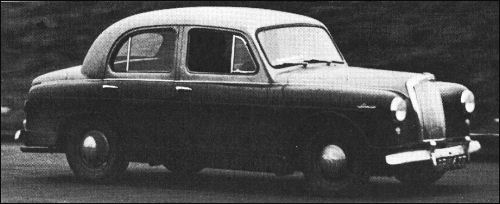 Car To Go >> Lanchester 1954