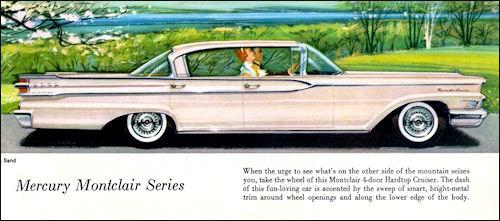 What Is Sedan Car >> Mercury 1959