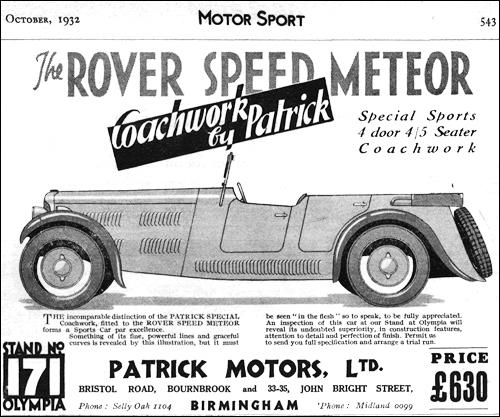 Rover 1932